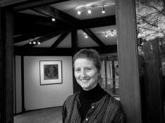 Silvi Glattauer at Baldessin Press Studio PHOTO: Doug Spowart