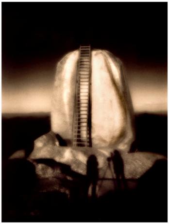The Sentinel, Mt Buffalo a zoneplate pinhole by Doug Spowart