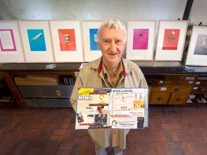William Kelly, SLV Creative Fellow and Baldessin Press Studio Residency recipient