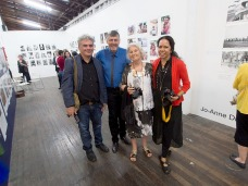 Michael Aird, Juno Jemes and Joanne Driessens @ Fireworks Gallery PHOTO: Victoria Cooper