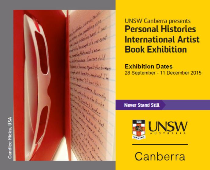 'Personal Histories' invite