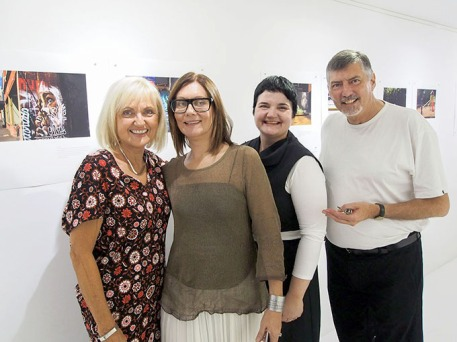 With Terri Ducheck Irena Prikryl and Gillian Jones the exhibition 'In Situ' at Maud Gallery