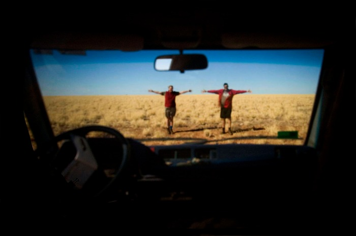 A CarCamera Obscura on the Barkly Tablelands 2005