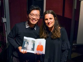 Louis Lim bought Ana Paula's book