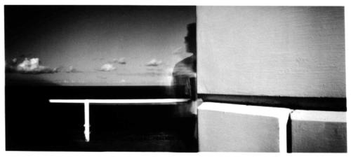 Pinhole image: Victoria Cooper – Byron lighthouse pinhole