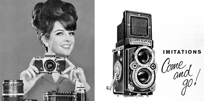 Advertising stuff from the 1960s for David's cameras