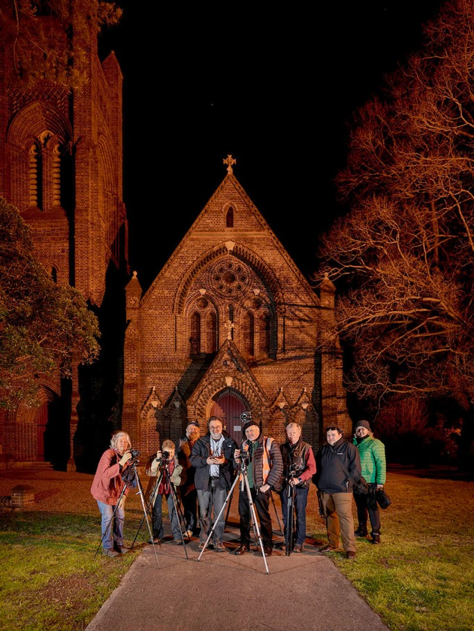 A group shot of some of the Nocturne Armidale participants