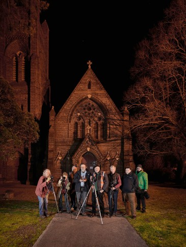 Nocturne Armidale group Photo: Neil Burton