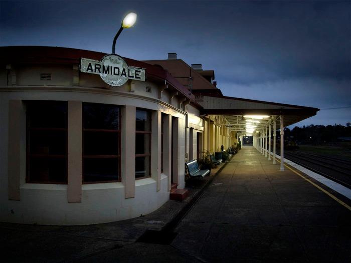 PHOTO: Cooper+Spowart – Armidale Railway Station