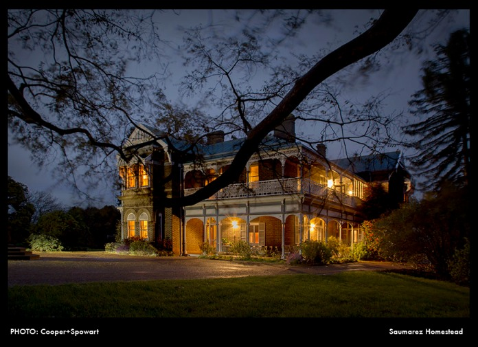 PHOTO: Cooper+Spowart – Saumarez Homestead in a storm