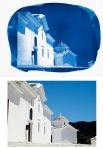 A cyanotype from an inkjet negative of a Skopelos church. PHOTO: StephBolt