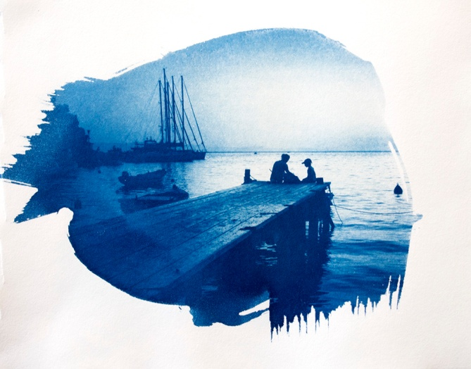 PHOTO: Steph Bolt Cyanotype: Cooper+Spowart