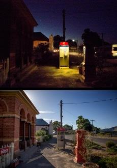 Nocturne Castlemaine: Chewton Post Office Duo PHOTO: Cooper+Spowart