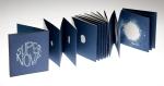 Super Nova a cyanotype artists' book by VictoriaCooper