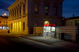 Nocturne Castlemaine: Post Office – Telstra telephones PHOTO: Cooper+Spowart ©2017