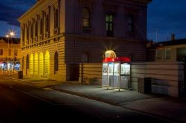 Nocturne Castlemaine: Post Office – Telstra telephones PHOTO: Cooper+Spowart ©2017