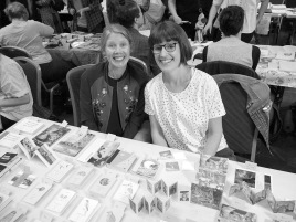 Gracia and Louise at the Festival of the Photocopier Melbourne 2017
