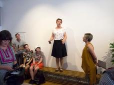 Heidi Romano welcomes attendees
