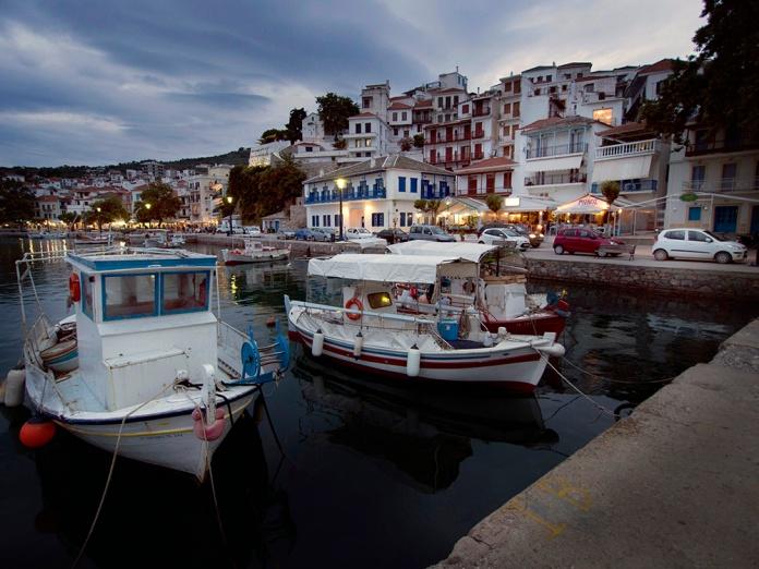 The Paralia - Skopelos