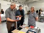 Martin Parr looking at books – Photo: LachlanBlair