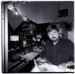 Doug Spowart in Imagery Gallery Darkroom by IanPoole