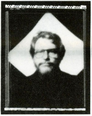 Pinhole portrait of Ian Poole 1993