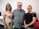 Toula, Ian and Louise at the Photobook Club meeting at the Cobb & Co Museum Toowoomba