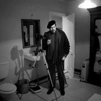 Doug photographing in the Bundanon Homestead