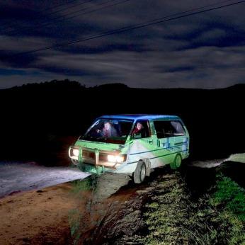 Tarago CarCamera Obscura projection