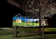 Bundanon residency Writer's Cottage dichotomy: a projection