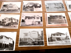 Corley house photos at a Annerley-Stephens History Group meeting