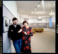 Imagery Gallery - my mother and business partner Ruby and I
