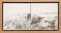 Claire Primrose 'Assembled Landscape 3' 2017 15 x 30cm