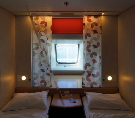Our cabin on the Spirit of Tasmania