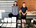James Bugg (r) and Rohan Hutchinson's table