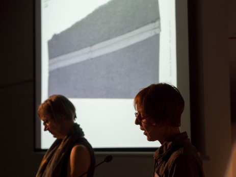 Ulrike Stoltz & Uta Schneider presenting ABBE Artists Book Conference July 6-9 2017 at the Queensland College of Art