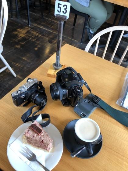 Marc & Doug's coffee, cake & cameras